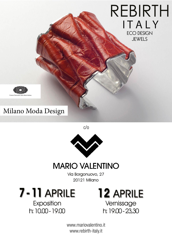 Milano Moda Design | Mario Valentino, Via borgonuovo Milano | 7/12 Aprile 2014