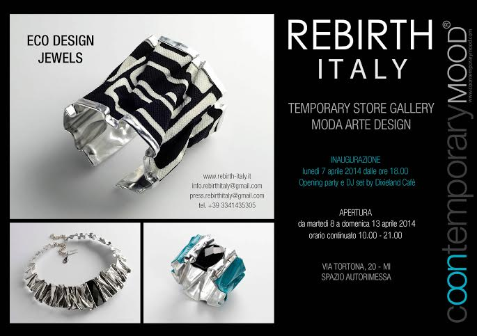 Milano Design Week – Coontemporary mood | Via Tortona, 20 Milano | 8/13 Aprile 2014