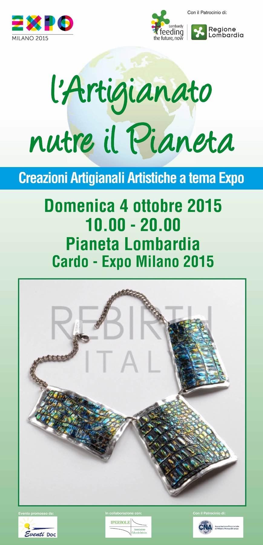 L'artigiano Nutre il pianeta | Expo padiglione Pianeta Lombardia , Milano | 4 Ottobre 2015