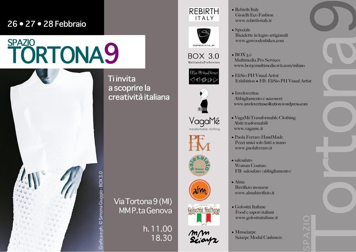 Creatività Italiana | Spazio Tortona 9, Milano | 26/28 Febbraio 2016