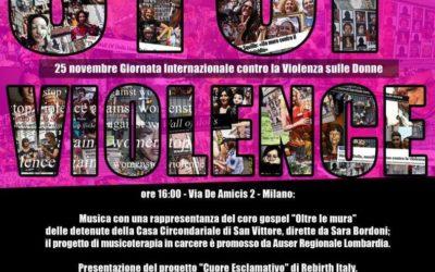 Stop Violence | Via De Amicis 2, Milano | 25 Novembre 2017
