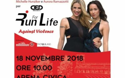 Run for Life | Arena Civica, Milano | 17/18 Novembre 2018